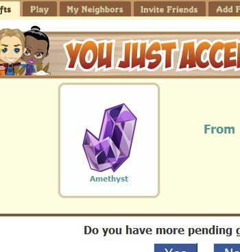 amethyst - amatista (trucos para obtener joyas en Farmville)