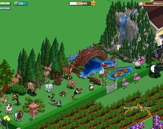 animales y naturaleza en la granja (click ampliar)